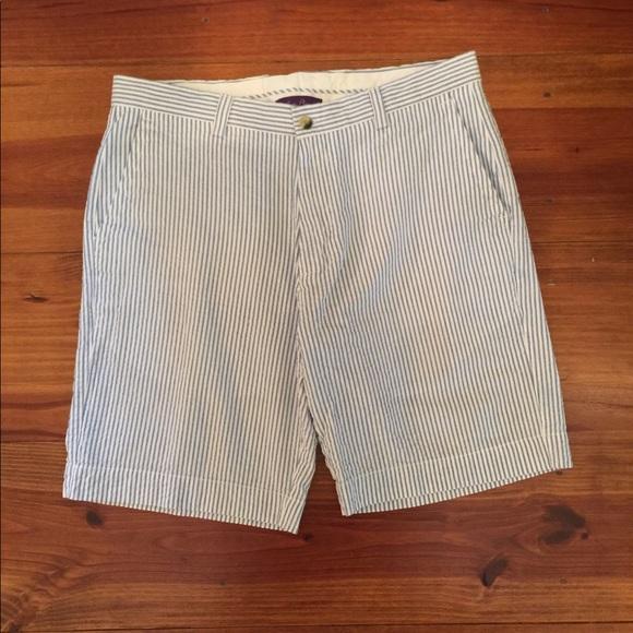 Alan Flusser Other - Men's Bermuda Shorts 'Seersucker' Sz 34